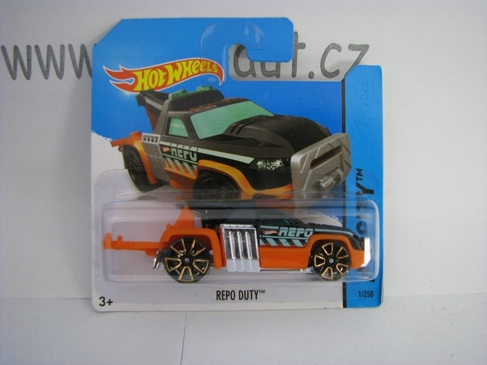 Hot Wheels 2014 Repo Duty HW City 5785 1/250